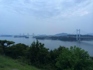 ツーリング写真 .岡山県 瀬戸大橋
