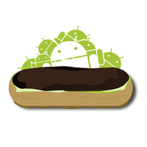 Android2.1:Éclair(エクレア)