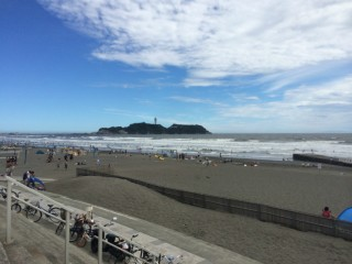 ツーリング写真 神奈川藤沢市 湘南江の島