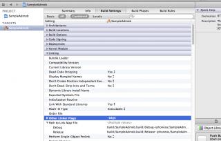 iOS SDK 6.0、Xcode4.5.2の環境でAdmob(AdMob Ads SDK 6.2.1)を表示する方法 必要なライブラリをプロジェクトに追加