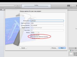 【iPhoneアプリ】特定のファイルのみARCを無効にする2