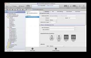 【iPhoneアプリ】「cocos2d for iPhone」でゲームアプリを作ってみる(ゲーム実装編):プロジェクトファイル
