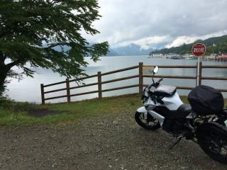 ツーリング写真 中禅寺湖