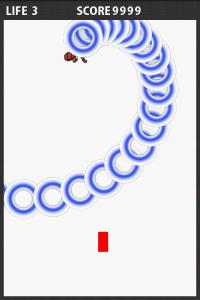弾幕シューティングゲームを作ってみるその203「渦巻き弾」