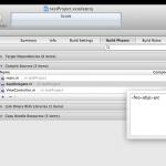 【iPhoneアプリ】特定のファイルのみARCを無効にする