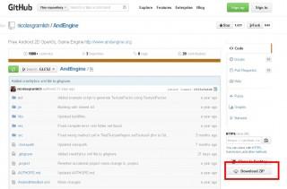 【Androidアプリ開発】オープンソースゲームエンジン「AndEngine」を導入してみる:ダウンロード場所