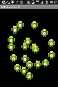 【Android】Viewを継承して独自のViewを作って簡単なお絵かきアプリを作ってみる01