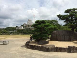 ツーリング写真 .兵庫県 姫路城